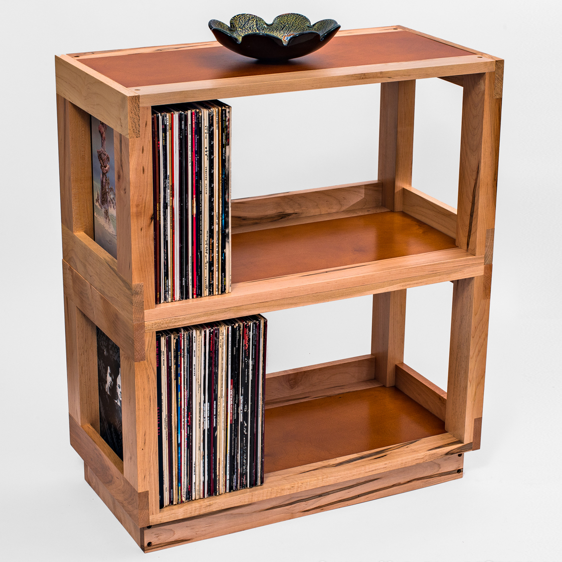 27 vinyl record storage and shelving solutions for Off the shelf cabinets