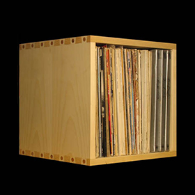 Beau Typical Storage Capacity Is 80 LPs Per Cubicle And They Are Sized To Hold  All Record Albums Including Boxed Sets.