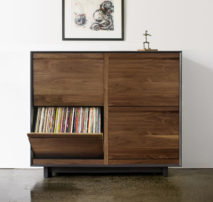 27 vinyl record storage and shelving solutions
