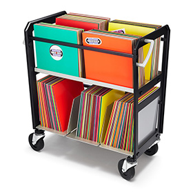 Way Basics Vinyl Record Album Storage Cubes