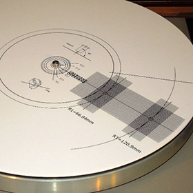 Protractor turntable