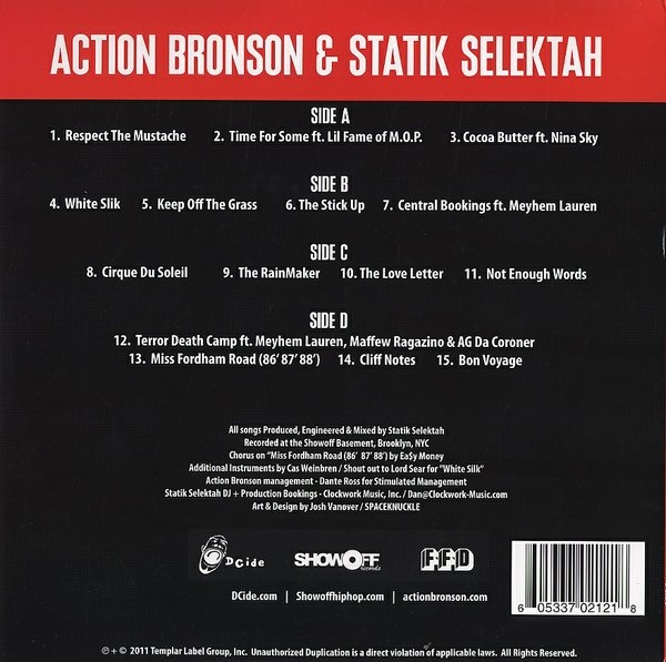 Action Bronson & DJ Statik Selektah - Well-Done