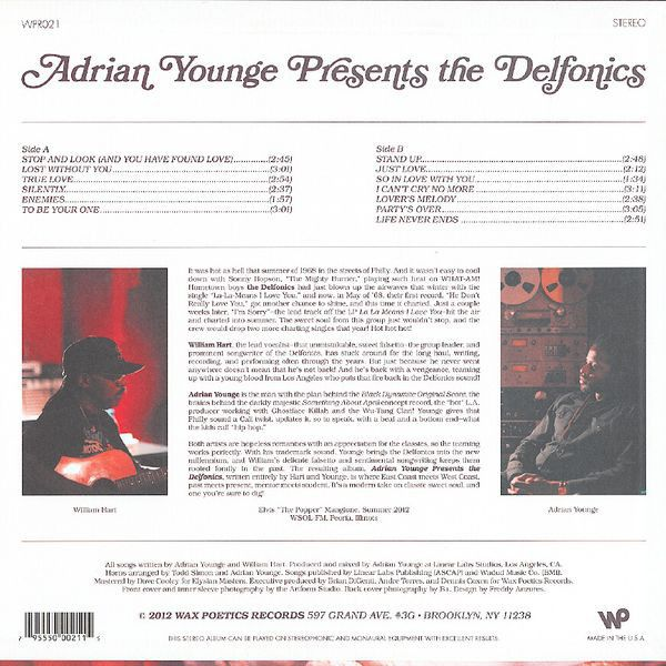 Adrian Younge Amp The Delfonics Adrian Younge Presents The