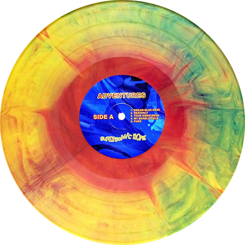 Adventures Supersonic Home Colored Vinyl