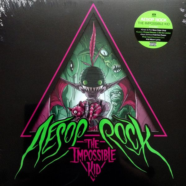 Aesop Rock The Impossible Kid Colored Vinyl