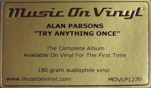 Alan Parsons - Try Anything Once