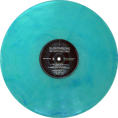 Alan Parsons Try Anything Once Colored Vinyl