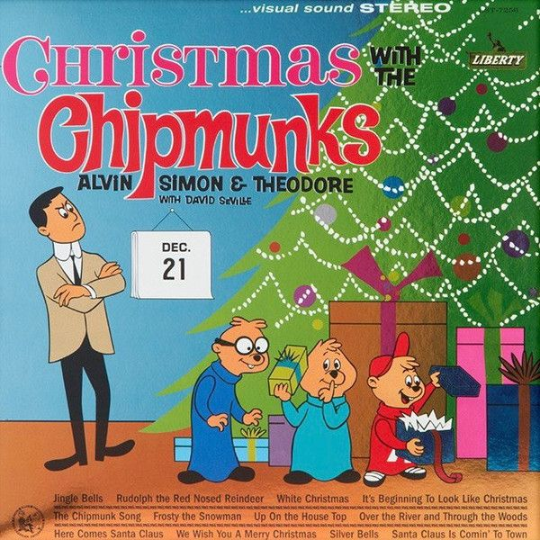 1962 alvin the chipmunks christmas with the chipmunks vol 1