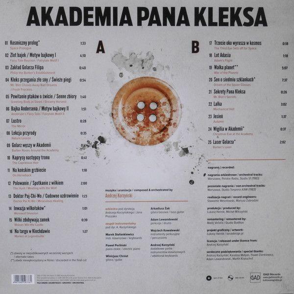 Andrzej Korzynski - Akademia Pana Kleksa