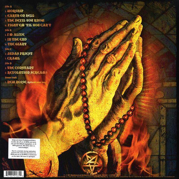 Anthrax - Worship Music Colored Vinyl