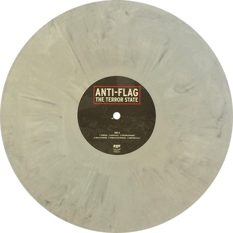 Anti Flag The Terror State Colored Vinyl