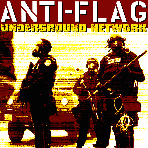 Anti Flag Underground Network Colored Vinyl