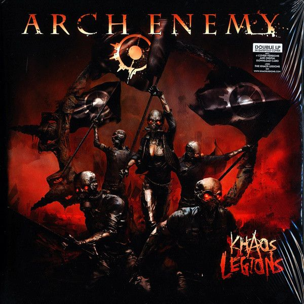 Arch Enemy Khaos Legions Colored Vinyl