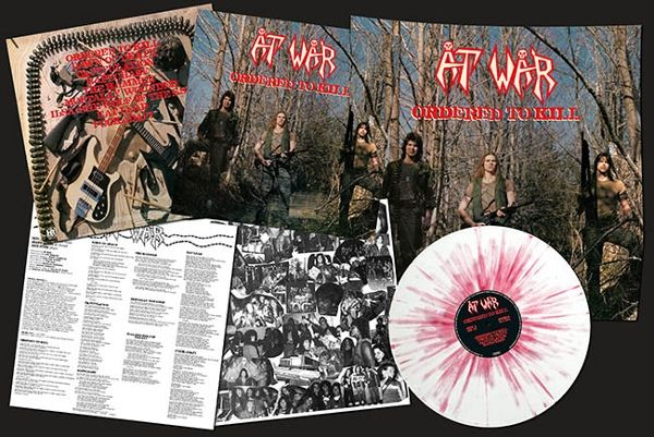 At War Ordered To Kill Colored Vinyl