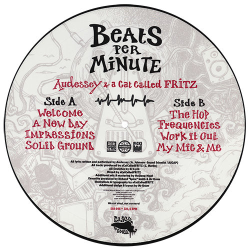 Audessey The Sound Sci & A Cat Called Fritz - Beats Per Minute