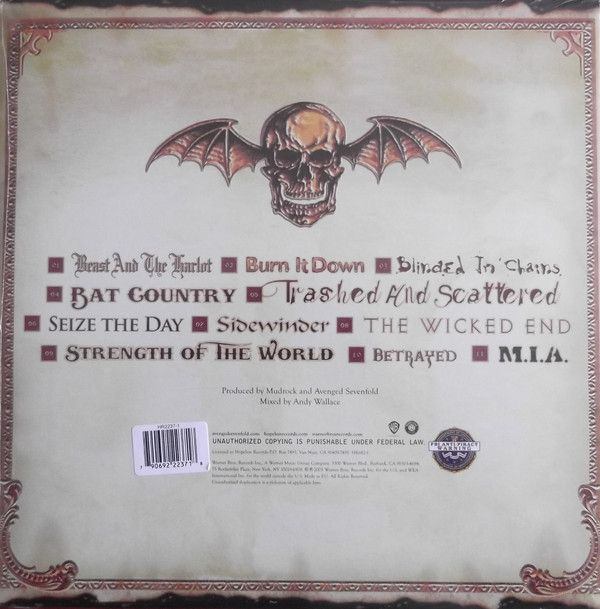 Avenged Sevenfold -City Of Evil