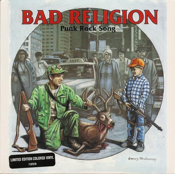 Bad Religion Punk Rock Song Colored Vinyl