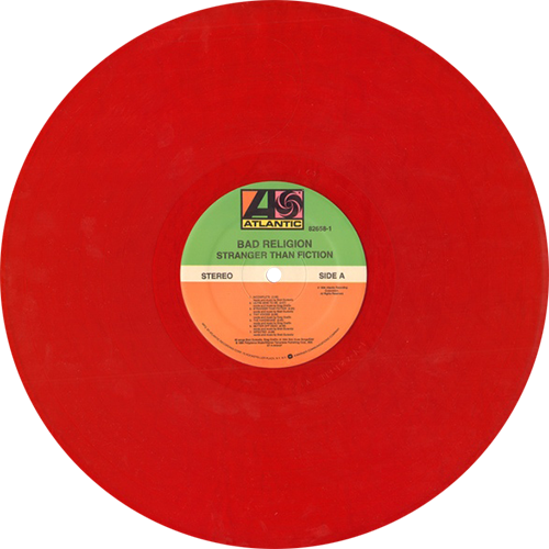 Bad Religion Stranger Than Fiction Colored Vinyl