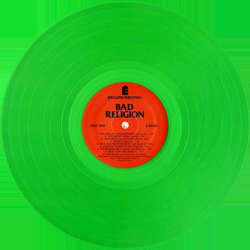 Bad Religion Suffer Colored Vinyl - Vinylboden nassraum