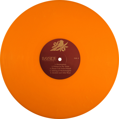 Bayside Sirens And Condolences Colored Vinyl