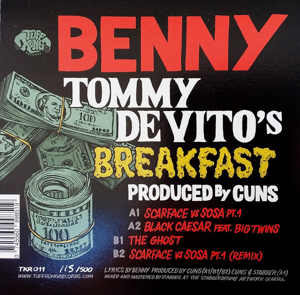 Benny  & Cuns - Tommy DeVito's Breakfast