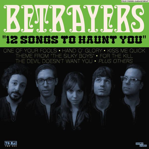 Betrayers 12 Songs To Haunt You Colored Vinyl