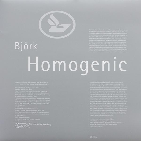 Björk -Homogenic