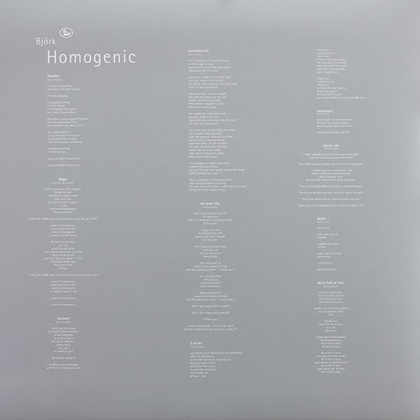 Bj 246 Rk Homogenic Colored Vinyl
