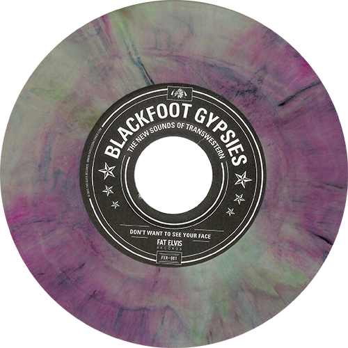 Blackfoot Gypsies The New Sounds Of Transwestern Colored