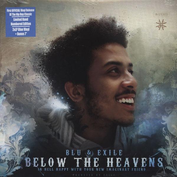 Blu Amp Exile Below The Heavens Colored Vinyl