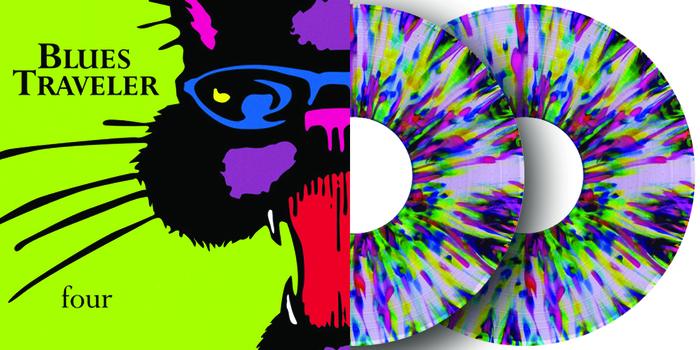 Blues Traveler Four Colored Vinyl