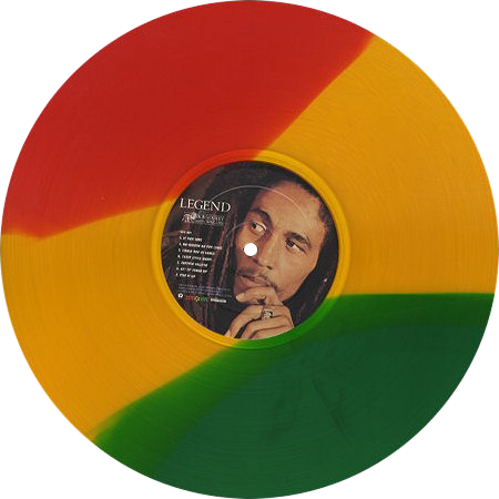 Bob Marley And The Wailers Legend Colored Vinyl