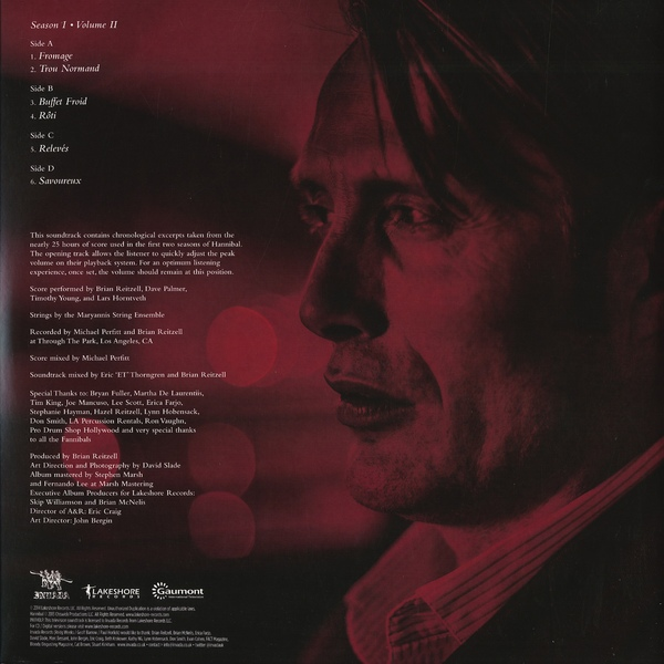 Brian Reitzell - Hannibal: Season I - Volume II (Original Television Soundtrack)