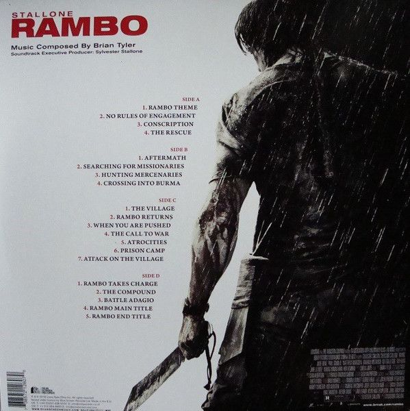 Brian Tyler - Rambo (Original Motion Picture Soundtrack)