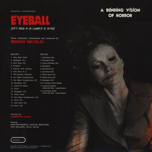 Bruno Nicolai -Eyeball (Gatti Rossi In Un Labirinto Di Vetro) (Original Soundtrack)