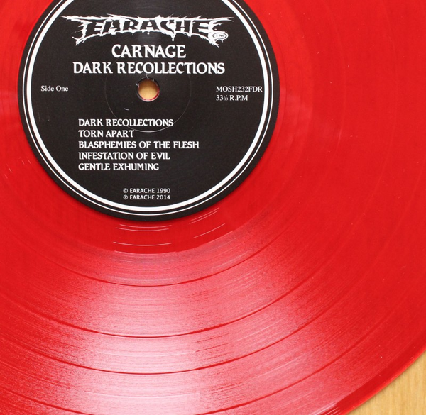 Carnage Dark Recollections Colored Vinyl