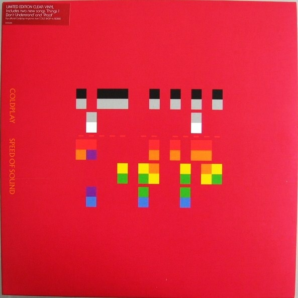 Coldplay Speed Of Sound Colored Vinyl