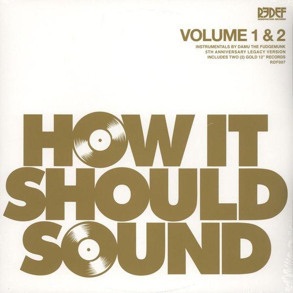 Damu The Fudgemunk How It Should Sound Volume 1 Amp 2