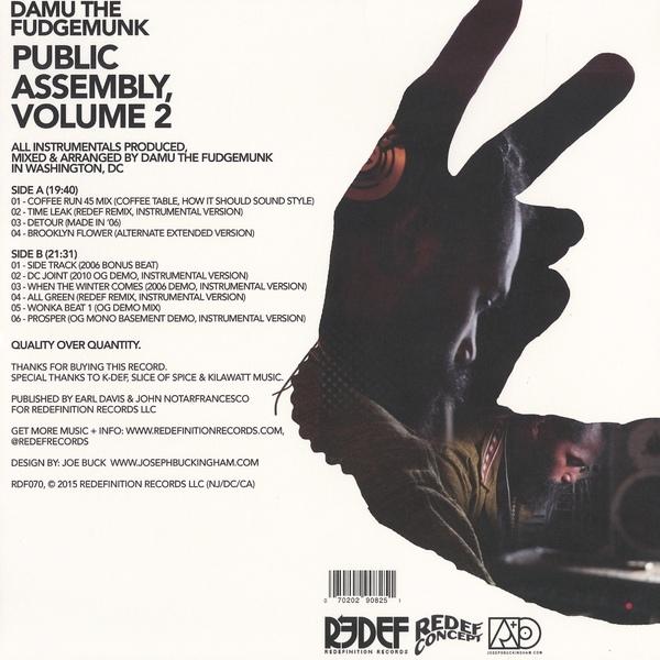 Damu The Fudgemunk -Public Assembly Volume 2