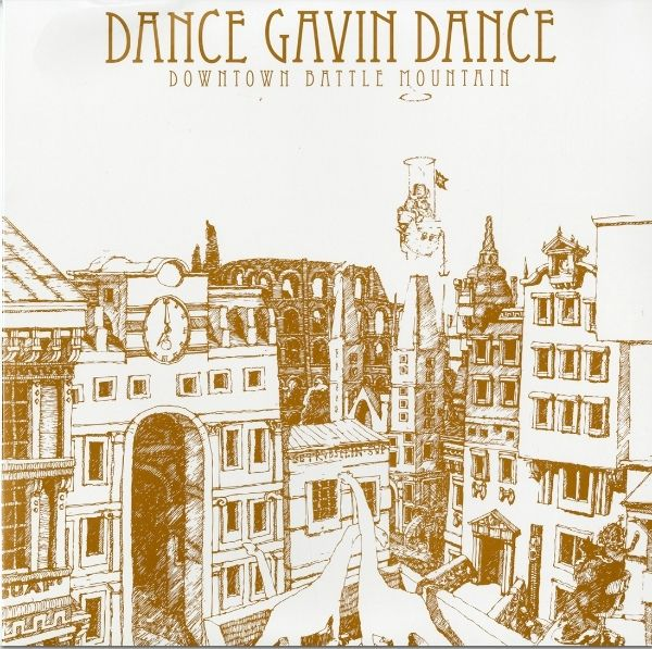 Dance Gavin Dance Downtown Battle Mountain Colored Vinyl