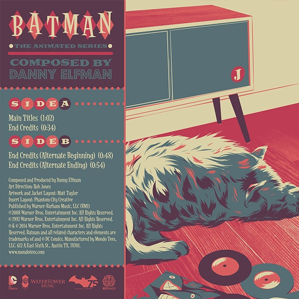 Danny Elfman - Batman The Animated Series