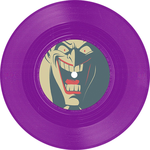 Danny Elfman Batman The Animated Series Colored Vinyl