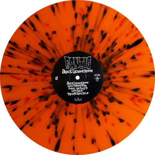 Danzig Black Laden Crown Colored Vinyl