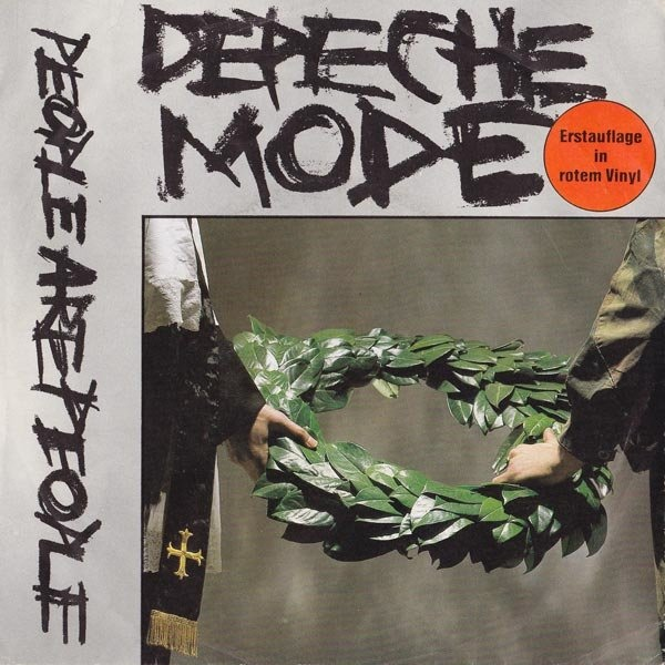 Depeche Mode People Are People Colored Vinyl