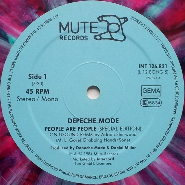 Depeche Mode -People Are People (Special Edition ON-USound Remix By Adrian Sherwood)