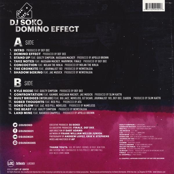 DJ Soko -Domino Effect