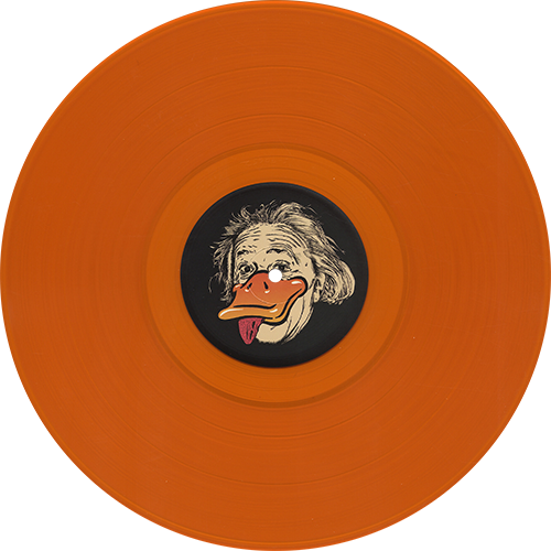 Duck Sauce Quack Colored Vinyl