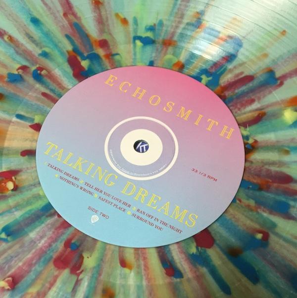 Echosmith Talking Dreams Colored Vinyl