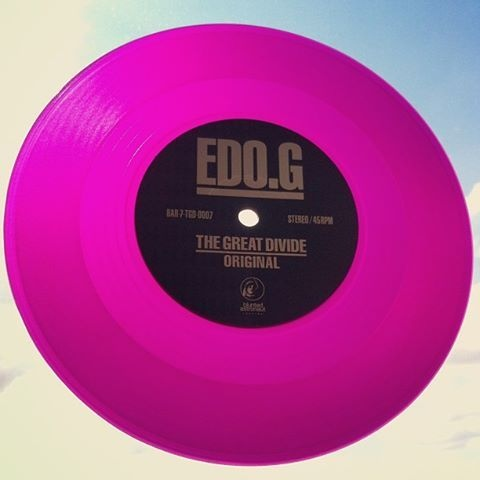 Ed O G The Great Divide Colored Vinyl