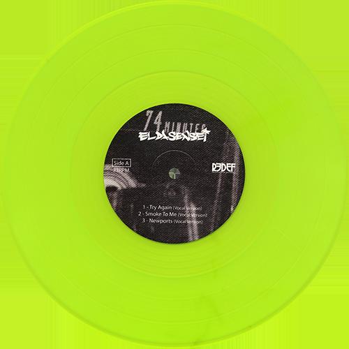 El Da Sensei Try Again Colored Vinyl